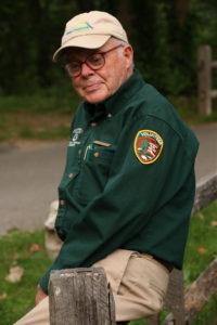 Al Klyberg at a Ranger Walkabout.  Photo by Jim Henrickson
