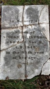 Stone of Mary McIntyre