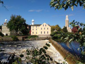 Samuel Slater Water Powered Cotton Mill